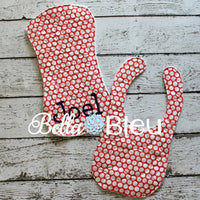 Baby Bib Basketball Quilt Stipple Stippling ITH In the hoop