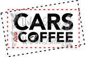 Cars & Coffee Sublimation png file