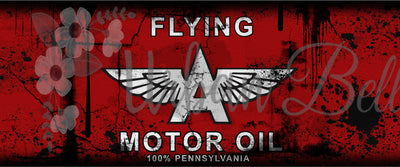 Car Flying A Oil Can Sublimation png file