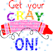Get Your Cray on Crayon Printable Back to school