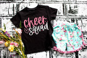 Cheer Squad tee shirt Kids and Adults