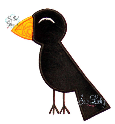 Fall Crow Applique