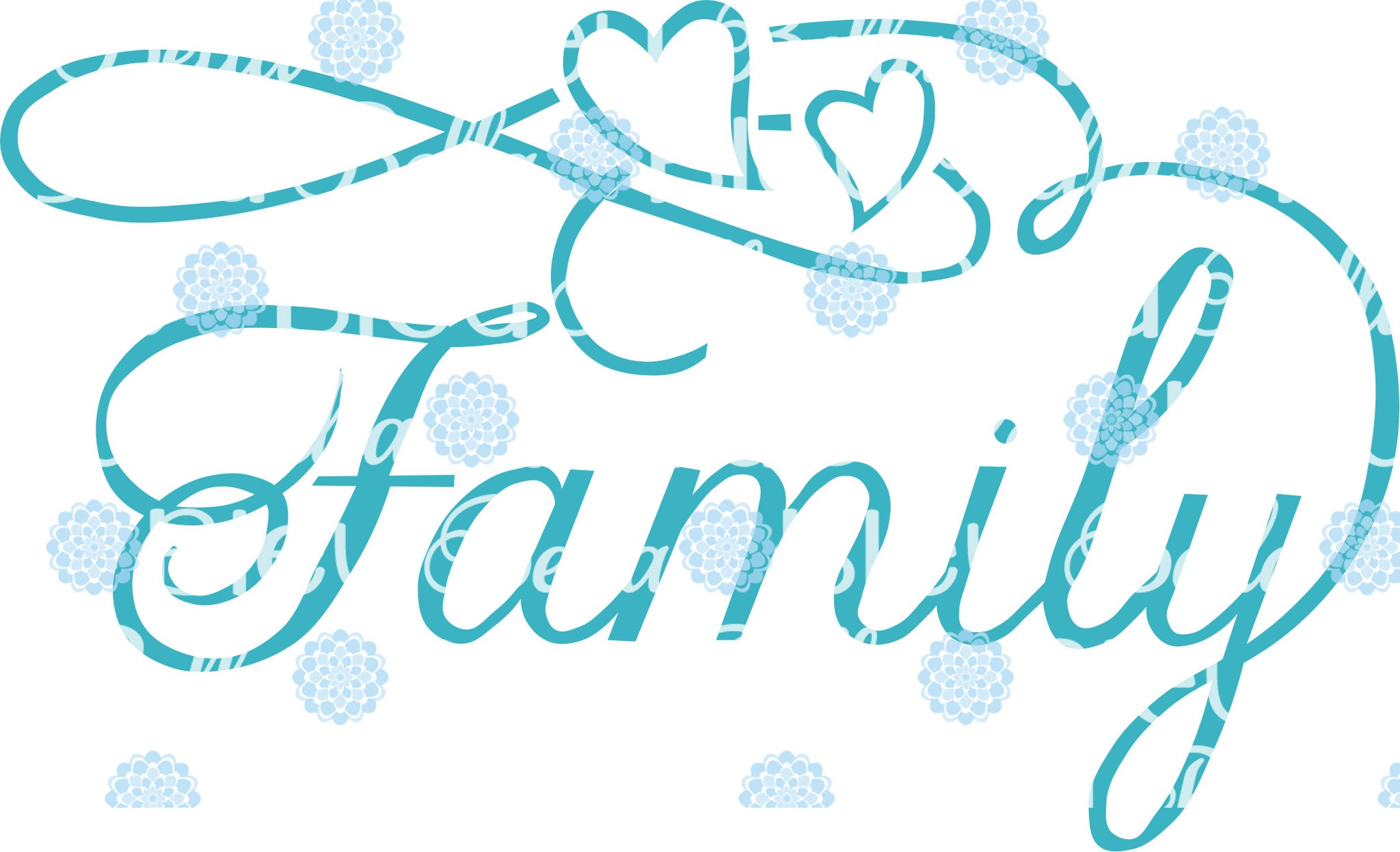 Family Wording Words Saying Svg Cuttable File Vinyl Files Bella Bleu Embroidery