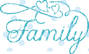 Family Wording Words Saying SVG Cuttable File Vinyl files