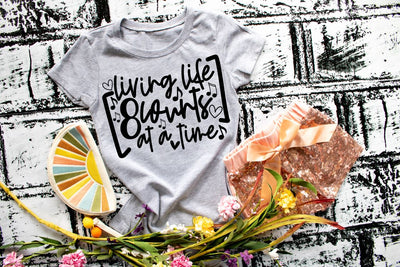 Living 8 counts at a time Dance or Cheer tee shirt Kids and Adults