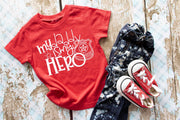 My Daddy my Hero Police Officer Tee Shirt