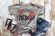 My Mommy my Hero Firefighter Tee Shirt