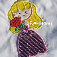 Inspired Aurora Sleeping Beauty Princess Machine Applique Embroidery Design