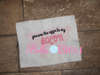 Sketchy You're the Eggs to my bacon Kitchen Pig machine embroidery design