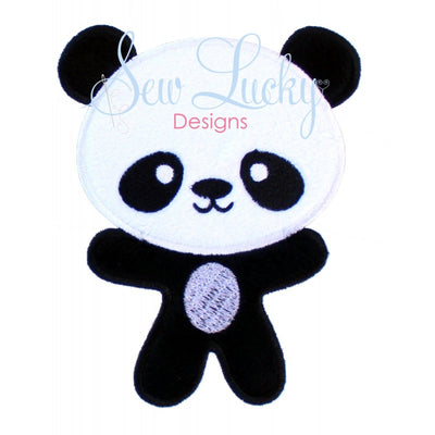 Panda Bear Applique