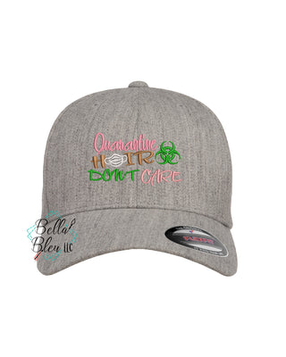 Quarantine Hair Don't Care Hat design