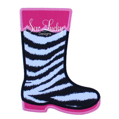 Rain Boot applique