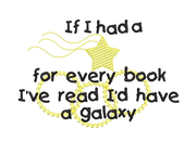 Book Star Galaxy Saying Reading Pillow
