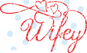 Wedding Wifey Wording Words Saying SVG Cuttable File