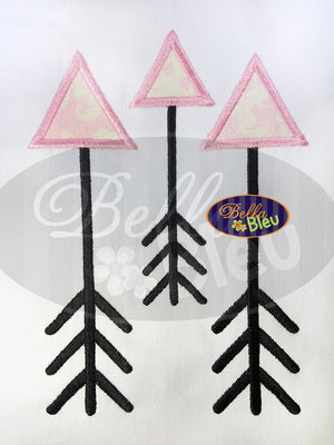 Applique Tribal Arrow Arrows Applique Embroidery Design
