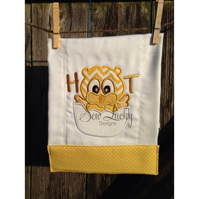 Baby Owl hatching Machine Applique Embroidery Design