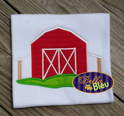 Applique Barn yard farm  Applique Embroidery Design