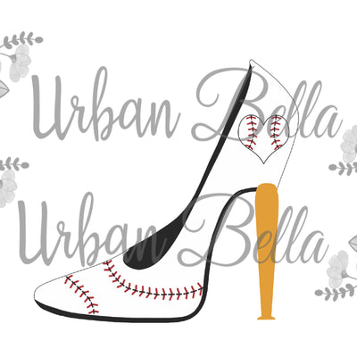 Stiletto Baseball Heel Sublimation png file
