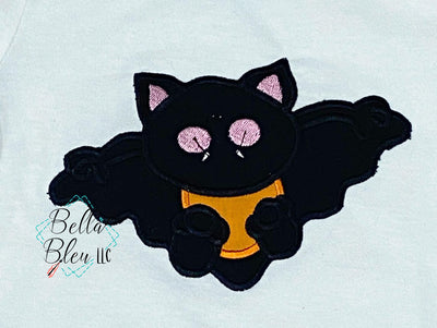 Applique cute Halloween Bat