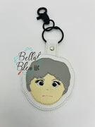 In the Hoop Inspired Golden Girls Dorothy Bea Key Fob