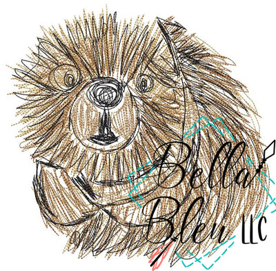 Beaver Animal Scribble Sketchy