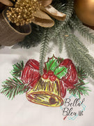 Christmas Bell Scribble Sketchy
