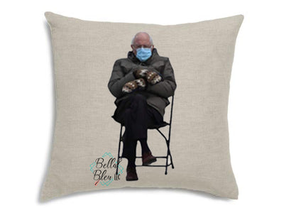 Bernie Mitten Decorative Pillow Cover
