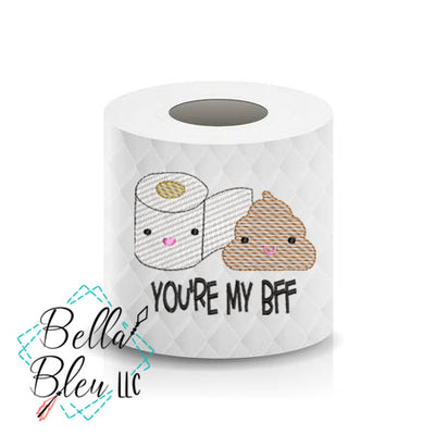 BFF  Toilet Paper Funny Saying