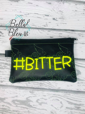 ITH # Bitter flying monkey stipple  Zipper bag wallet