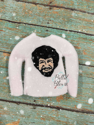 Inspired Bob Ross ITH Elf Shirt Sweater