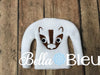 Badger Fan Mascot Elf Elf Sweater Shirt in the hoop machine embroidery design