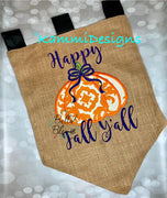 Fall Pumpkin - Pumpkin Applique Design