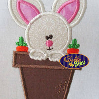 Easter Bunny in a Flower Pot