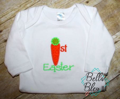 Easter Carrot Applique Embroidery Design