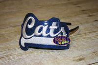 ITH in the hoop Cats Sports Headband Slider Topper machine embroidery