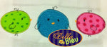 3 little Easter Chicks Chick Embroidery Applique design Easter machine embroidery Monogram