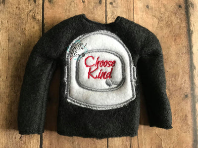 Choose Kind ITH Elf Sweater Shirt