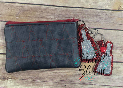 ITH Cowbell Stipple Zipper bag Wallet