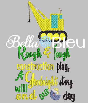 Construction Saying Reading Pillow Quote, Reading Pillow Embroidery design, Saying Quotes, embroidery design