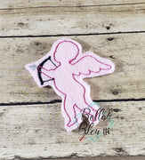 Valentines Day Cupid Feltie Machine Embroidery Design
