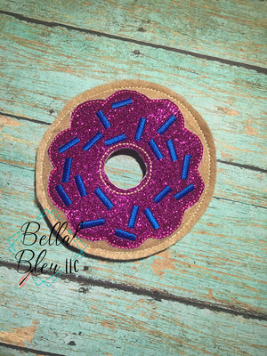 Donut Feltie Machine Embroidery Design