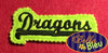 ITH in the hoop Dragons Headband Slider Topper machine embroidery