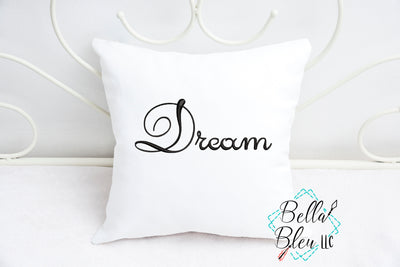 Dream Saying Machine Embroidery Design