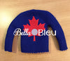 ITH Canadian Canada Maple Leaf Elf Sweater Shirt Machine Embroidery Design