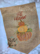 Fall Harvest Stacked pumpkins Scribble Sketchy