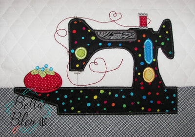 Feather Weight Sewing Machine Applique