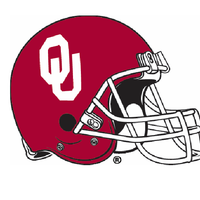 The University of Oklahoma Set of 4 Football Stone Coasters