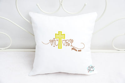 Sketchy Galatians 2:20 Religious Saying Victory Machine Embroidery design