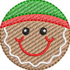 Gingerbread Boy Sketchy Mini Design