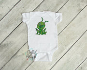 Color blend Grasshopper Insect Bug Machine Embroidery Design